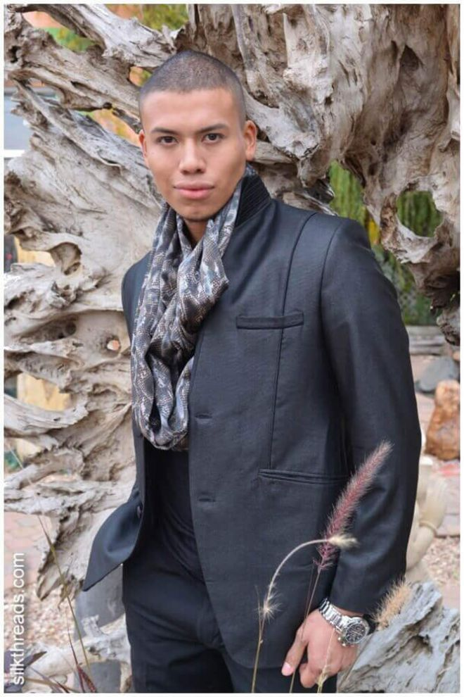 Black shine Jacket