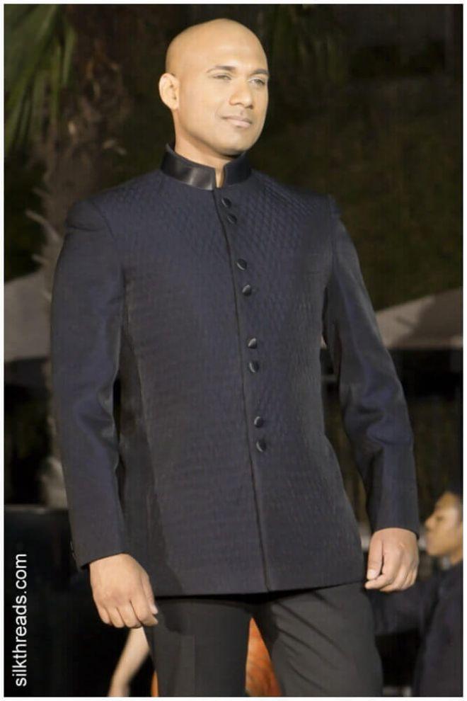 Black Diamond Quilt Jacket