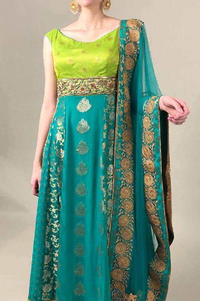Ethnicwear-blueyellow-1